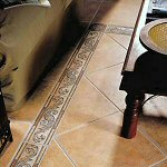 Tiled floors for Bathrooms
