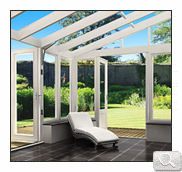 Modern bespoke lean to conservatory