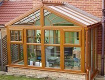 pavilion style conservatory, image courtesy of Direct Conservatories 4U
